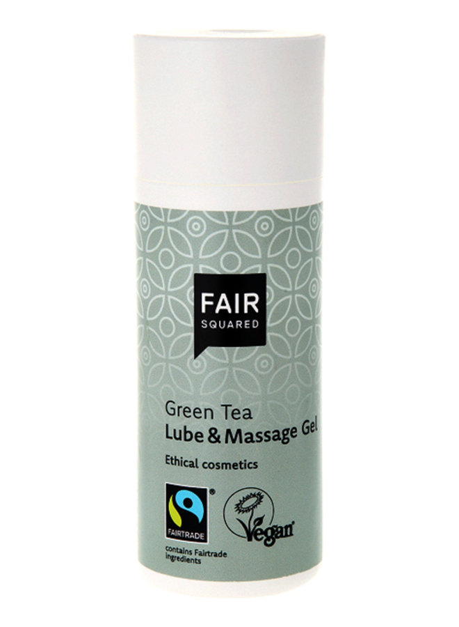 Fair Squared Green Tea Glijmiddel en Massage Gel