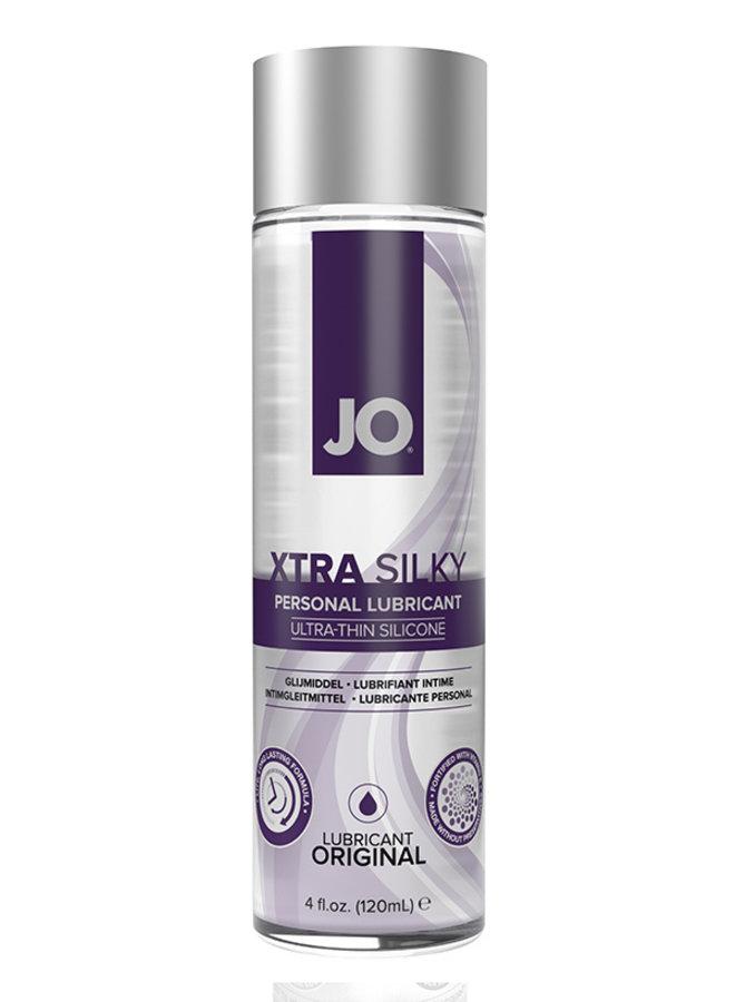JO Xtra Silky Thin Silicone Lubricant