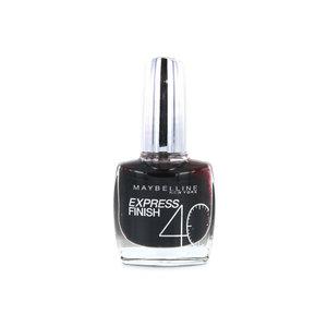 Express Finish Nagellak - 809 Onyx Black