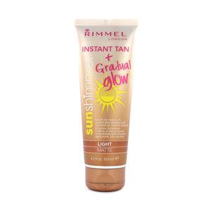 Sun Shimmer Instant Tan + Gradual Glow - Light Matte