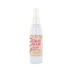 Insta Fix & Go Primer Setting Spray - Go Primer & Setting Spray