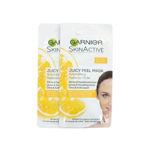 SkinActive Juicy Peel Masker - 2 x 8 ml (voor vermoeide huid)