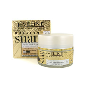 Royal Snail Concentrated Actively Smoothing Cream - Day and Night 30+ - 50 ml