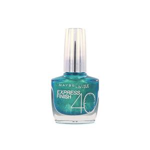 Express Finish Nagellack - 865 Turquoise Green