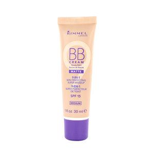 9-in-1 Matte Skin Perfecting Super Makeup BB Cream - Medium