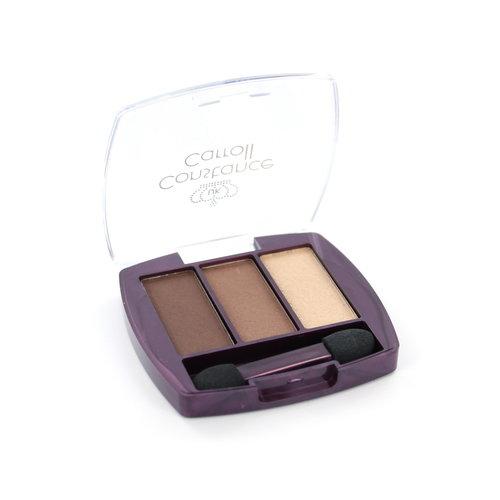 Constance Carroll Trio Lidschatten - 1 Brown Eyes