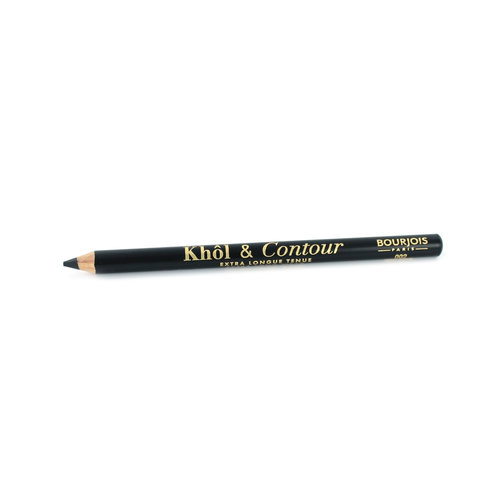 Bourjois Khol & Contour Extra Long Wear Kajalstift - 002 Ultra Black