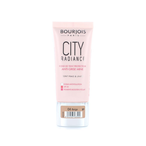 Bourjois City Radiance Skin Protecting Foundation - 04 Beige