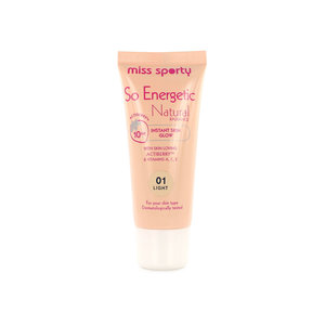 So Energetic Natural Radiance Foundation - 01 Light