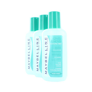 Acetone Free Gentle Nagellackentferner - 3 x 125 ml