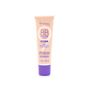 9-in-1 Matte Skin Perfecting Super Makeup BB Cream - Light/Medium