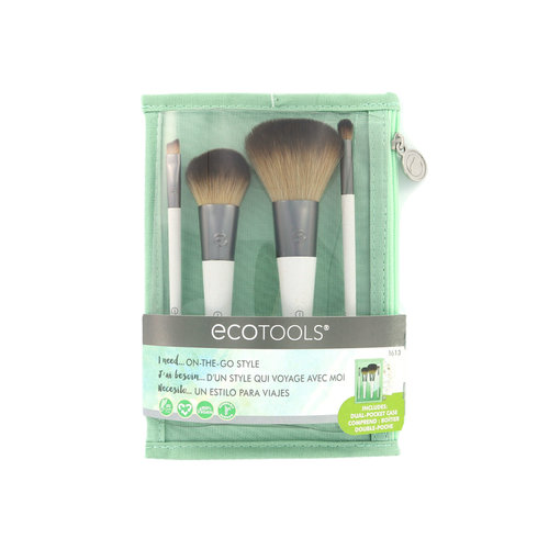 Ecotools On-The-Go-Style Brush Set