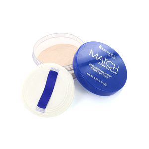 Match Perfection Silky Loose Face Puder - 001 Transparent