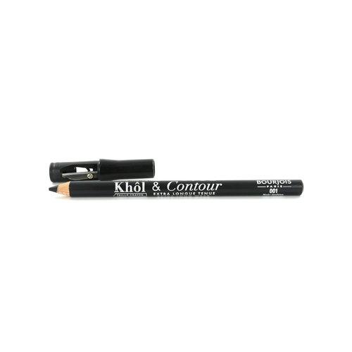 Bourjois Khol & Contour Kajalstift - 001 Noir-Issime (Mit Spitzer)