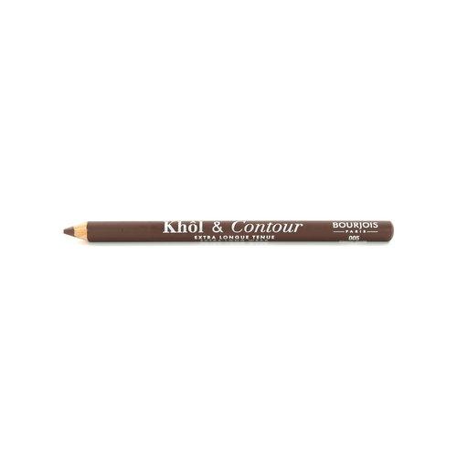 Bourjois Khol & Contour Extra Long Wear Kajalstift - 005 Choco-Lacté