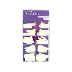 100 Nailtips - White