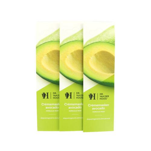 Dr. van der Hoog Crememaske Avocado Normale Haut (3 Stück)