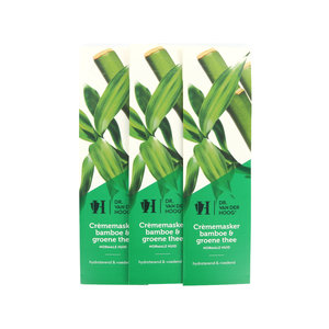 Crememaske Bambus & Grüner Tee - Normale Haut (3 Stück)
