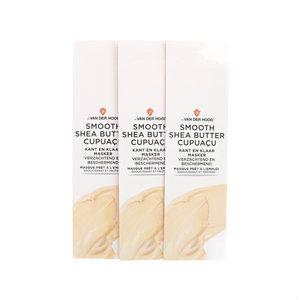 Gebrauchsfertige Maske Smooth Shea Butter Cupuacu - Trockene & empfindliche Haut (3 Stück)
