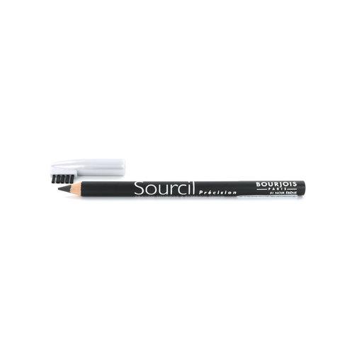 Bourjois Sourcil Précision Augenbrauenstift - 01 Noir Ébéne