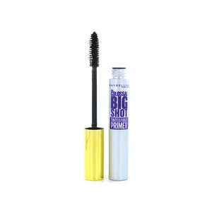 The Colossal Big Shot Tinted Fiber Mascara Primer - Black