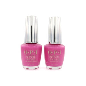 Infinite Shine Nagellack - No Turning Back From Pink Street (2 Stück)