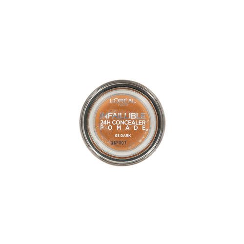L'Oréal Infallible 24H Pomade Creme Concealer - 03 Dark