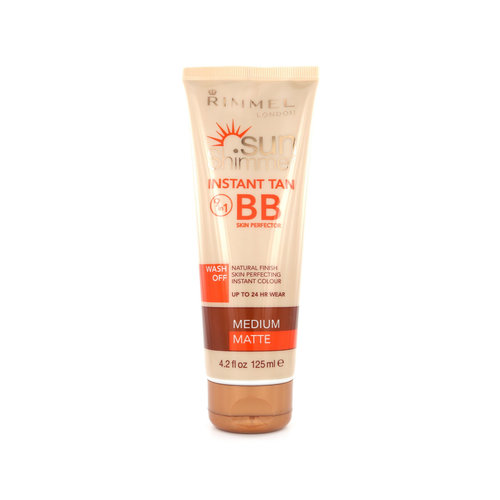 Rimmel Sun Shimmer Instant Tan BB Skin Perfector - Medium Matte