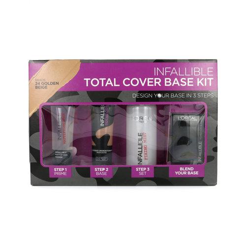 L'Oréal Infallible Total Cover Base Kit - 24 Golden Beige