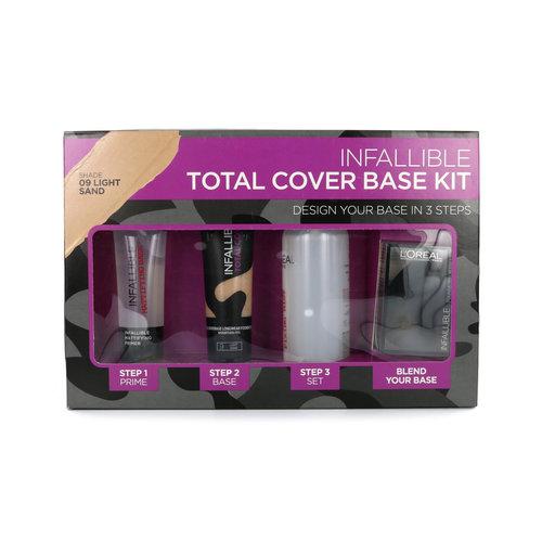 L'Oréal Infallible Total Cover Base Kit - 09 Light Sand