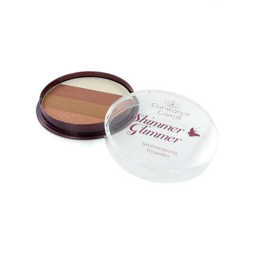 Constance Carroll Glimmer Shimmer Puder & Highlighter - 1 Bronze Shimmer