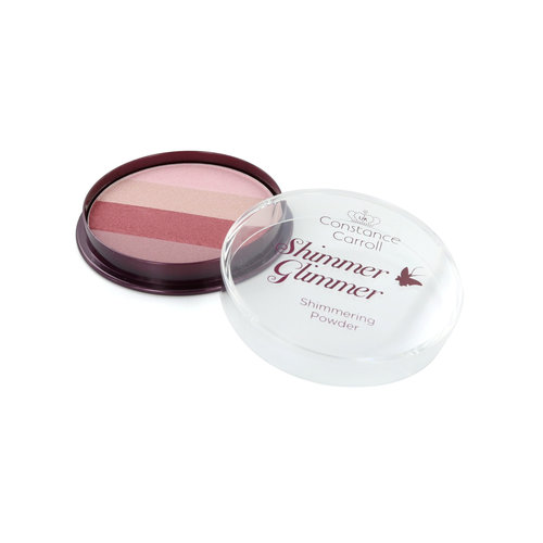 Constance Carroll Glimmer Shimmer Puder & Highlighter - 3 Pink Shimmer