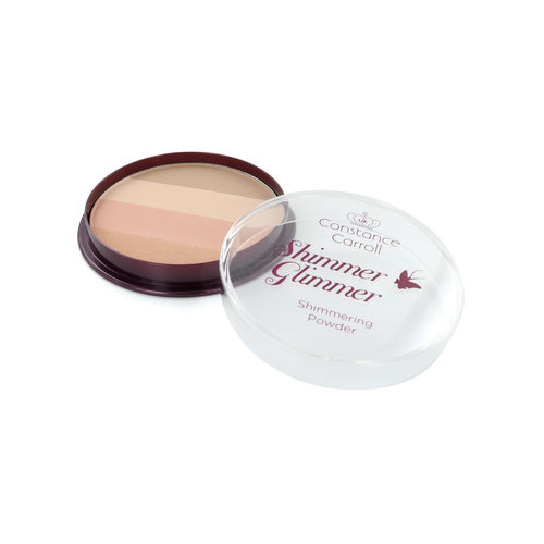 Constance Carroll Glimmer Shimmer Puder & Highlighter - 4 Nude Shimmer
