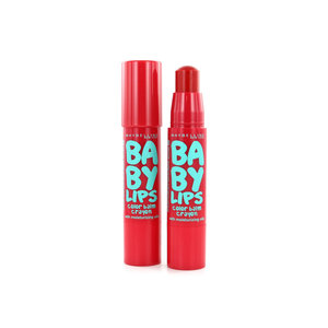 Baby Lips Color Balm Crayon - 005 Candy Red (2 Stück)