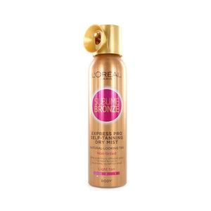 Sublime Bronze Express Pro Self-Tanning Dry Mist - Light Tan