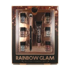 Rainbow Glam Glitter Pigment Geschenkset