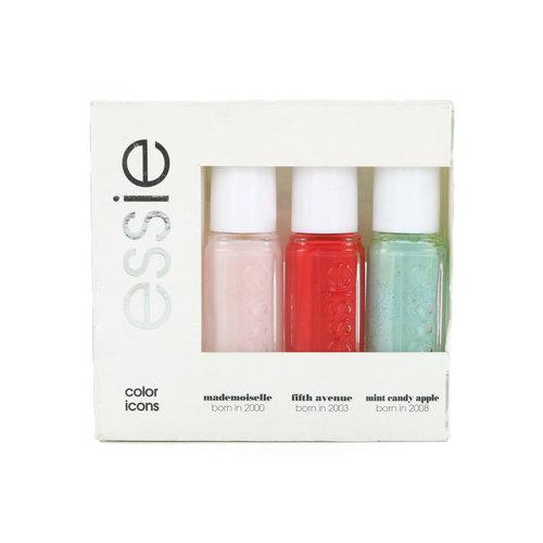 Essie Color Icons Mini Nagellack - 3 x 5 ml