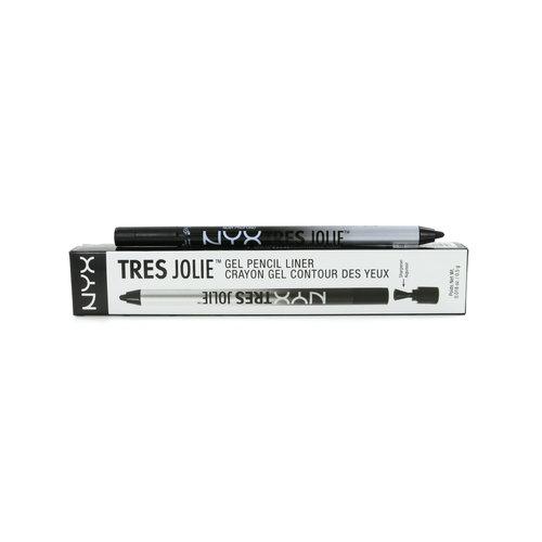 NYX Tres Jolie Gel Eyeliner - Pitch Black