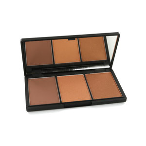Face Form Contouring & Blush Palette - Dark