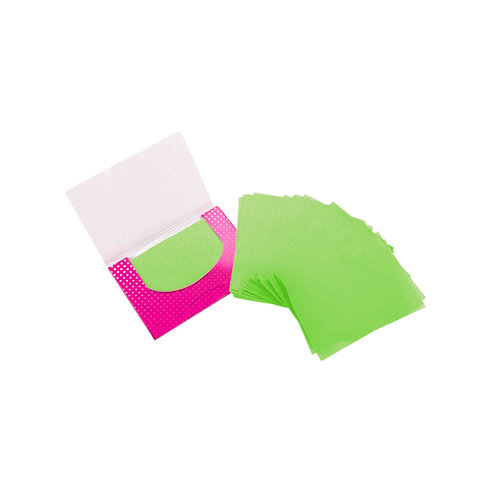 Brushworks Tea Tree Blotting Papers - 100 Sheets