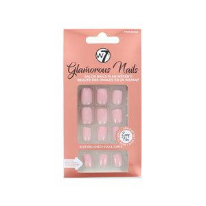 Glamorous Nails - Pink Beige (Mit Nagelkleber)