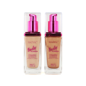Body Glimmer Face & Body Illuminator - Sunset & Sunrise