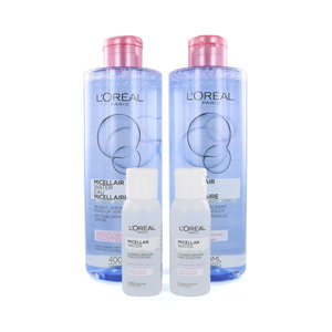 Micellar Reinigungswasser - 2 x 400 ml (inkl. gratis 2 x fahrgröße 30 ml)
