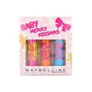Baby Lips Lip-Balm - Hydrate / Cherry Me / Pink Punch (Geschenkset)