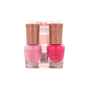 Color Therapy Mini Set Nagellack - 270 Mauve Mania-290 Pampered Pink