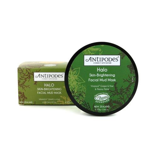 Antipodes Halo Facial Mud Maske - 75 gram