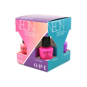 Neon Collection Mini Nailpolish Geschenkset - 4 x 3.75 ml