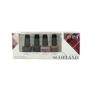 Mini Nailpolish Scotland Geschenkset - 4 x 3.75 ml