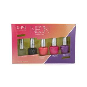 Infinite Shine Neon Collection Mini Nailpolish Geschenkset - 5 x 3.75 ml