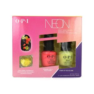 Neon Collection Geschenkset - Bright Bokeh Nail Art